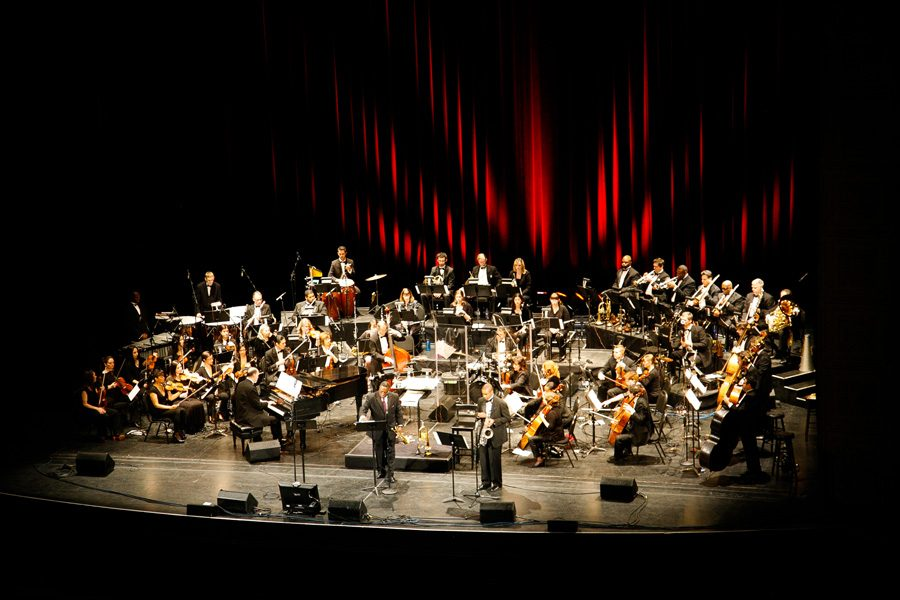 Orbert+Davis+%28Bienen+%E2%80%9997%29+will+present+the+world+premiere+of+a+four-movement+work+performed+by+the+Chicago+Jazz+Philharmonic+on+Friday.