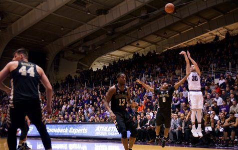 Men's Basketball: McIntosh's strong second half powers Northwestern to victory over Wake Forest