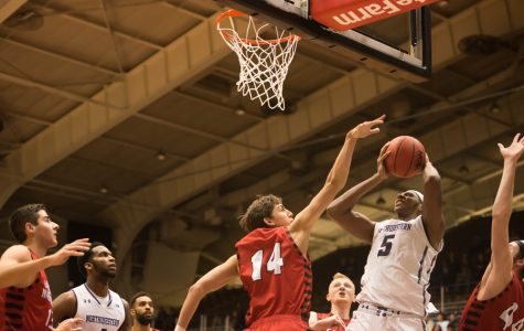 Men's Basketball: Northwestern falls at Butler on last-second shot