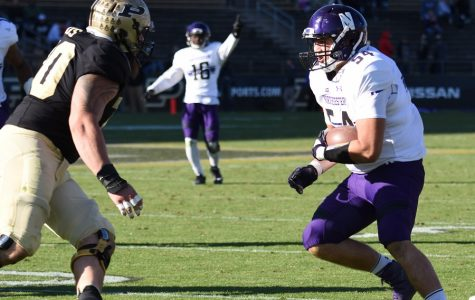 Football: Wildcats roll past Purdue 45-17 for bounce-back win