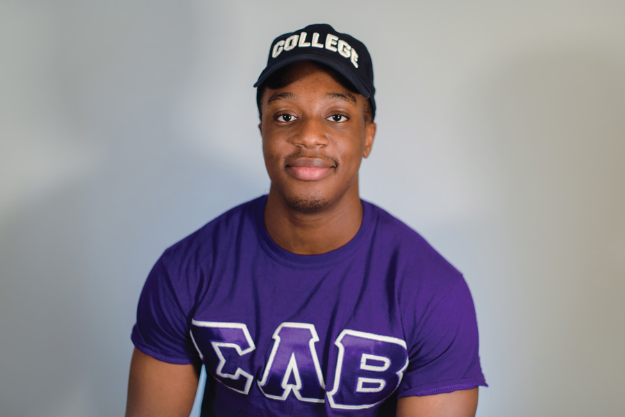 Weinberg sophomore Charles Auta is one of seven active members in MGC fraternity Sigma Lambda Beta. Auta said that although a small chapter size means each member must take on most responsibility, it has also allowed him to form closer bonds with his fraternity brothers.