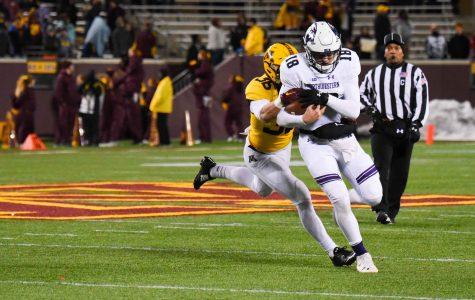 Football: Slow start, offensive struggles doom Wildcats in 29-12 loss to Minnesota
