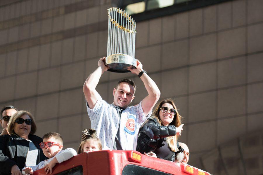 Captured: Chicago celebrates the Cubs