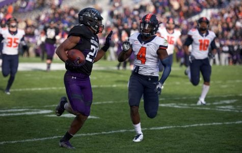 Football: Northwestern uses run-heavy attack to race past Illinois