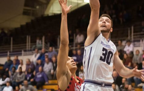 Men's Basketball: Northwestern squanders late lead in loss to Notre Dame