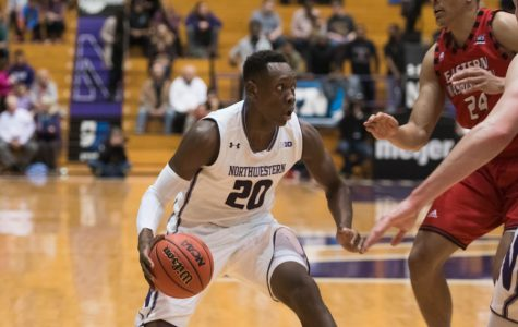 Men's Basketball: Northwestern runs past No. 22 Texas for big Legends Classic win