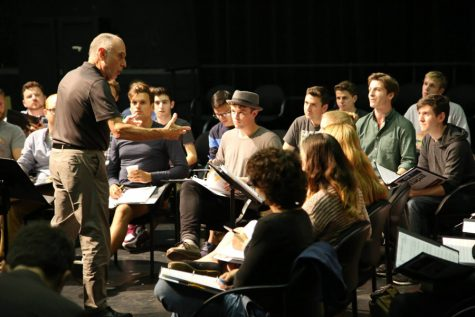 Students collaborate with Broadway-level professionals on new sports musical