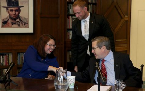 U.S. Rep. Tammy Duckworth, Sen. Mark Kirk clash in final senate debate