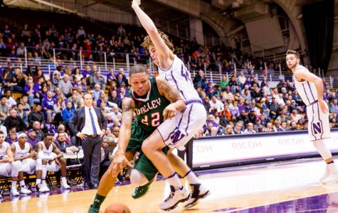 Men's Basketball: Gavin Skelly's playmaking helps Northwestern shred Bryant's zone defense