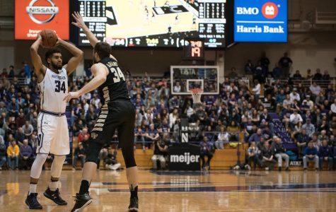 Men's Basketball: Northwestern notches win over Dayton despite second-half collapse