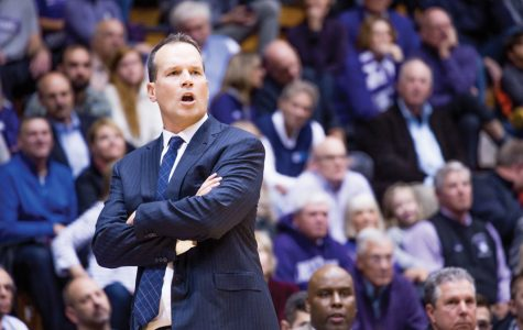 Men's Basketball: Northwestern trustees endow head coaching position