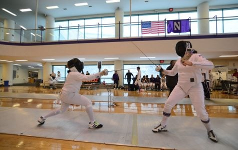 Fencing: Northwestern impresses at Philadelphia duals, remains in top 10
