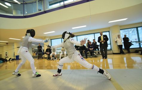 Fencing: Northwestern looks to prove itself at Western Duals