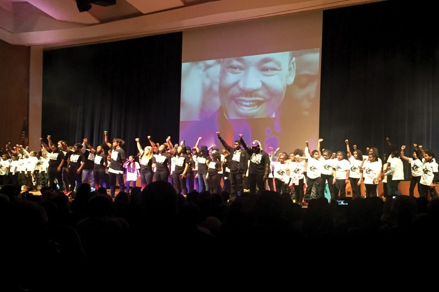 Students Lead Artistic Community Event Honoring Martin Luther King Jr