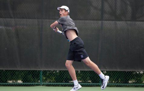 Men's Tennis: Ben Vandixhorn seals narrow Northwestern win in season opener