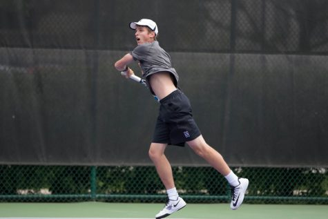 Men's Tennis: Ben Vandixhorn seals narrow Northwestern win in season opener