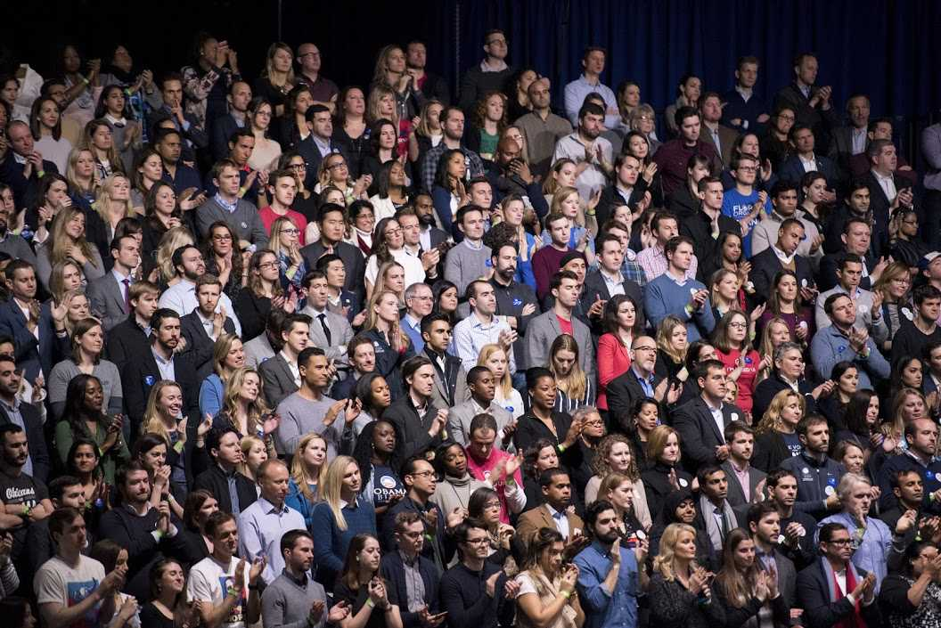 More than 18,000 people attended President Barack Obama's farewell address at the McCormick Place convention center. Multiple Northwestern students were in the crowd on Tuesday night.