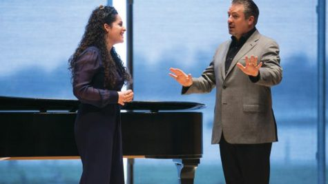 Opera star leads Northwestern master class