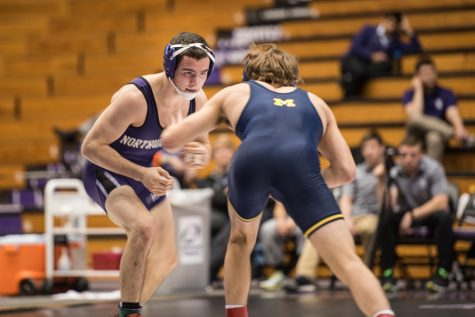 Wrestling: Jason Ipsarides shines as Wildcats lose two Big Ten matches