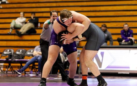 Wrestling: Northwestern's first-half lineup secures fate in Purdue loss