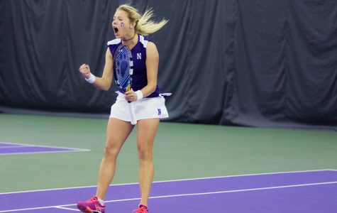 Women's Tennis: Northwestern cruises to doubleheader sweep over Akron, Chicago State