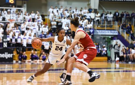 Women's Basketball: Northwestern holds off Indiana for emotional 80-67 win