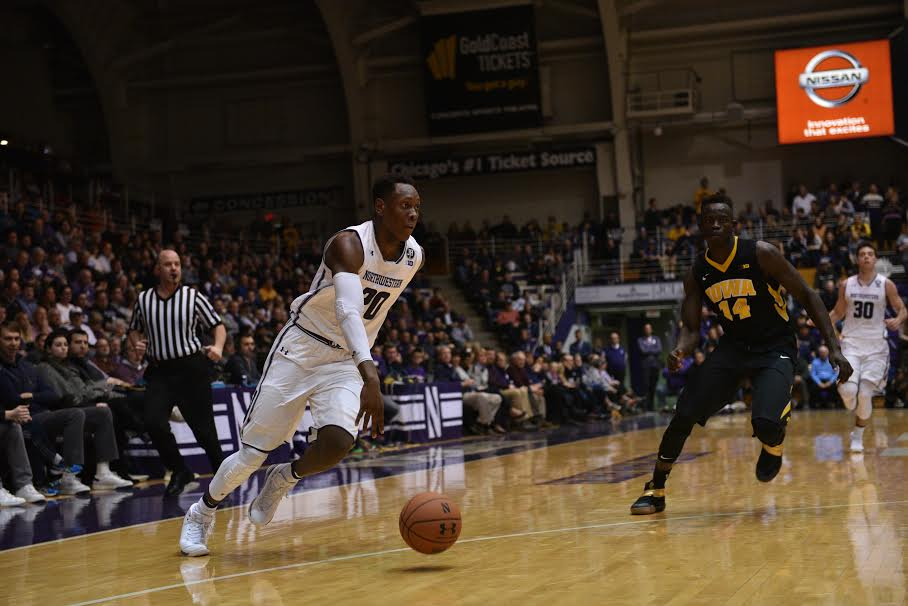 Scottie Lindsey handles the ball. The junior guard scored 21 in the win.