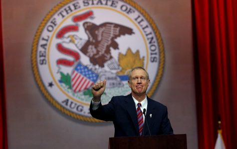 Gov. Bruce Rauner voices limited support for Senate budget plan in annual address