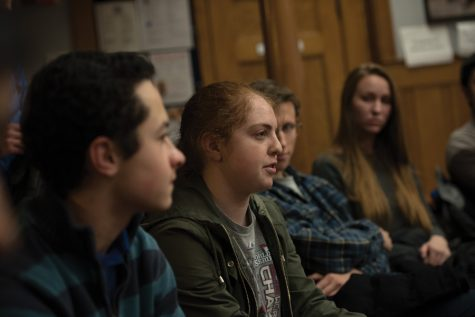 Students debate whether to ban Greek life at Political Union event