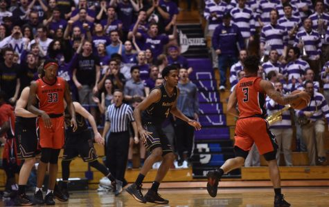 Men's Basketball: In uneven win over lowly Rutgers, Welsh-Ryan Arena still electric