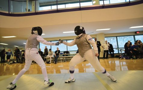 Fencing: Northwestern battles top tier teams on Senior Day