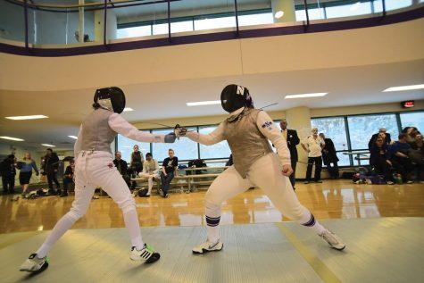 Fencing: Northwestern battles top tier teams on Senior Day