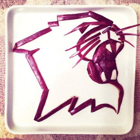 Alumnus creates artwork that's good enough to eat