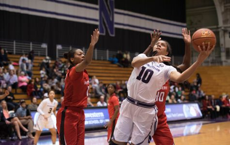 Women's Basketball: Last-second buzzer-beater dooms Northwestern in loss to Purdue