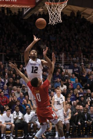 Men's Basketball: Northwestern can't keep pace with No. 23 Maryland
