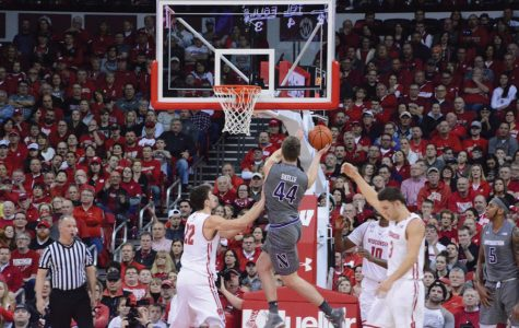 Men's Basketball: In biggest win of season, Northwestern outlasts No. 7 Wisconsin on road