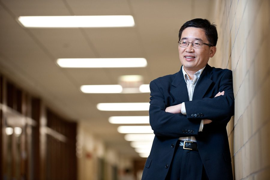 McCormick+Prof.+Yonggang+Huang+is+a+Walter+P.+Murphy+professor+of+civil+and+environmental+engineering+and+mechanical+engineering.+He+was+elected+to+the+National+Academy+of+Engineering+earlier+this+month.