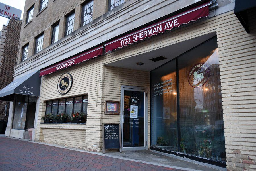Unicorn Cafe, 1723 Sherman Ave., may soon be neighbors to an Insomnia Cookies store. City council approved a special use permit for the store, which will be open until 3 a.m.
