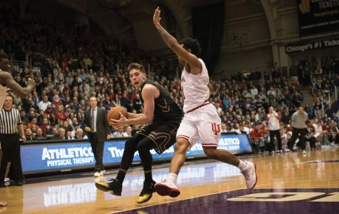 Men's Basketball: Northwestern's winning streak crushed in loss to Purdue
