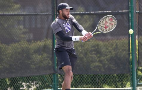 Men's Tennis: Northwestern ties program record with perfect weekend