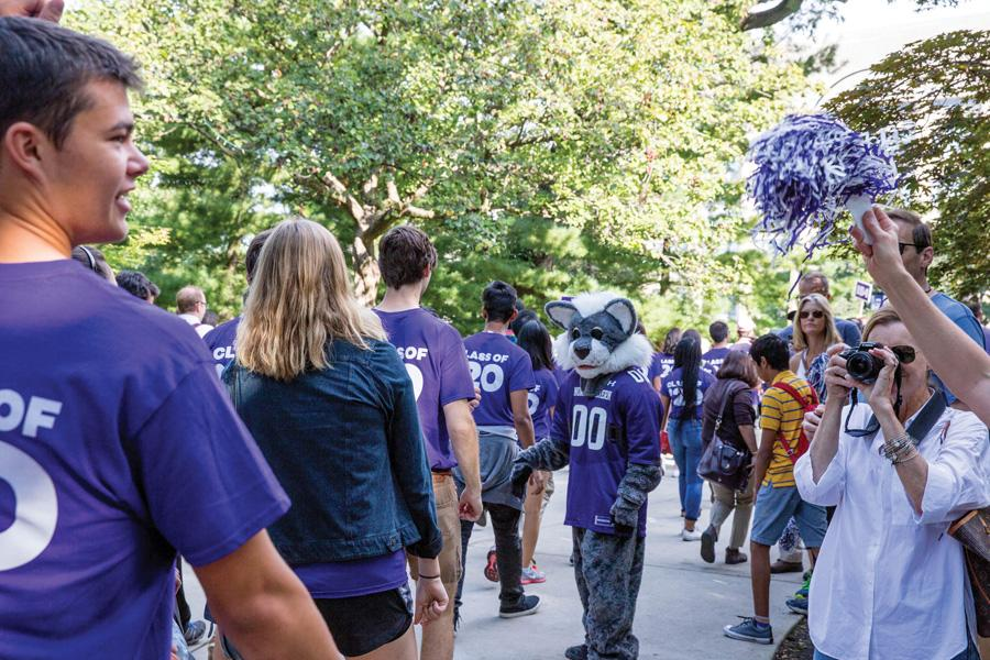 Freshmen participate in March Through the Arch during Wildcat Welcome 2016. A new pre-orientation program aimed at preparing students for the humanities and social sciences will launch this summer.