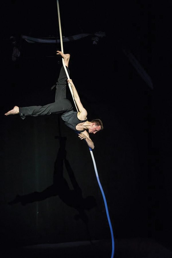 Acrobatics, trapeze and philosophy intersect in Northwestern alumna's original play
