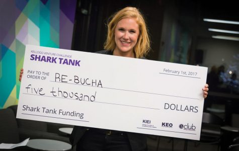 Kombucha startup wins Kellogg Venture Challenge Shark Tank