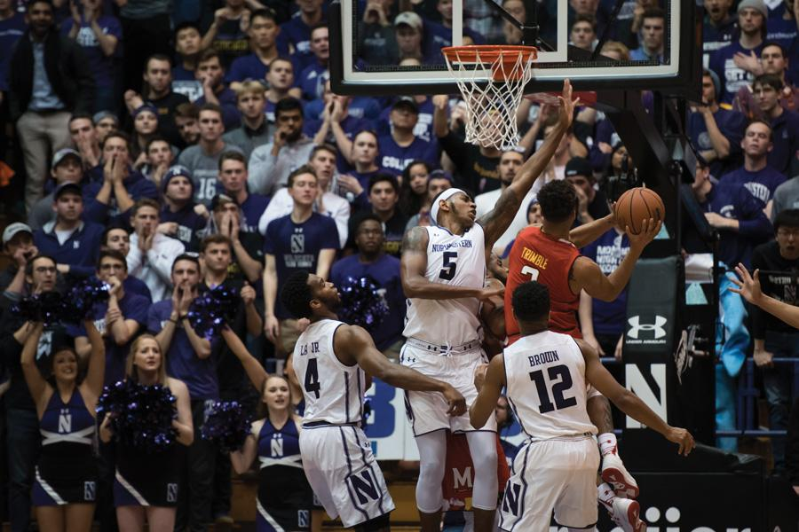 Melo Trimble drives into the paint. The junior guard lit up the Cats for a career-high 32 points.