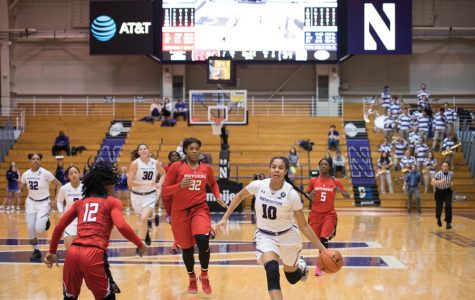 Women's Basketball: Nia Coffey shines in final home game