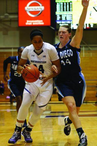 Women's Basketball: Pallas Kunaiyi-Akpanah impresses for Northwestern in loss to Minnesota