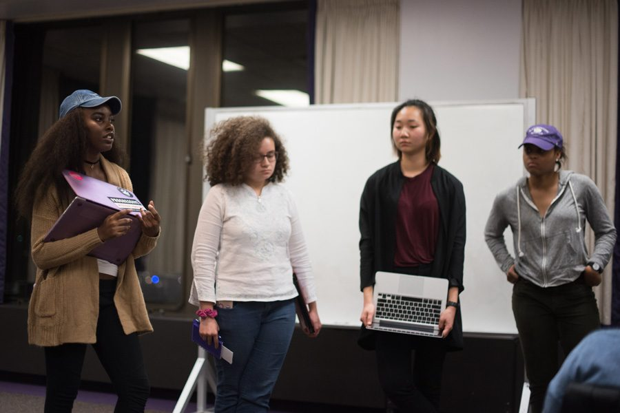 Associated Student Government senators discuss emergency legislation November about undocumented immigrants. ASG and Fiedler Hillel both released statements Tuesday condemning an executive order barring immigration from seven Muslim-majority countries.