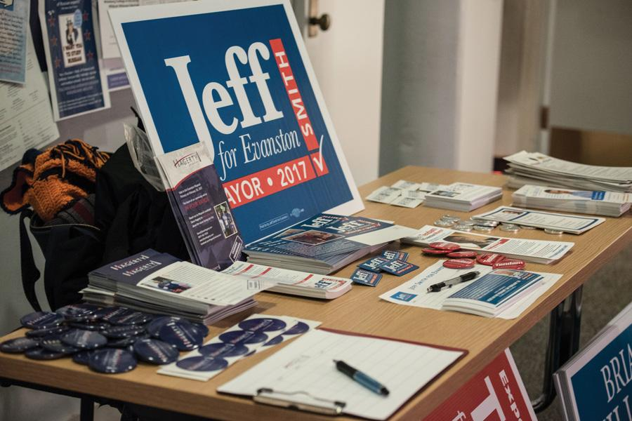 Jeff Smith (Weinberg '77) is one of five candidates in the Evanston mayoral race. The primary election is set for Feb. 28.