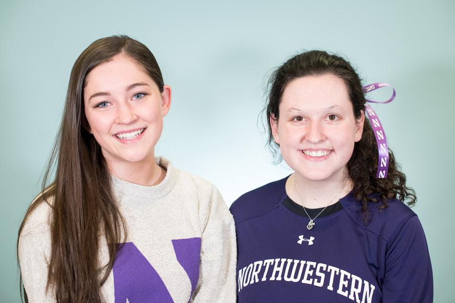 Emily Harriott and Maddy Fisher will begin as the first female president and executive vice president of Wildside in more than six years at the start of Spring Quarter. Wildside – the official student section of NU athletics – aims to improve student game-day experience while supporting the school's sport teams.