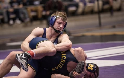 Wrestling: Berkowitz takes over in Wildcats loss on Senior Night